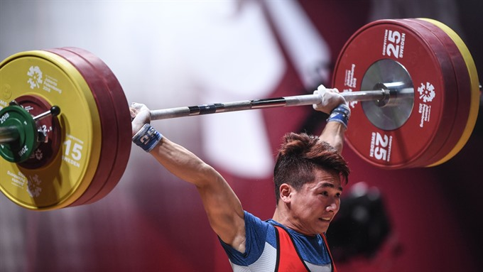 Weightlifter Vinh brings home one more silver
