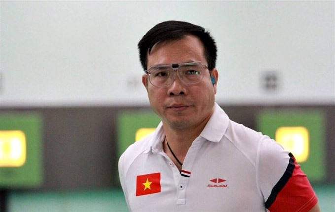 Olympic winner Vinh fails in 10m air pistol at ASIAD