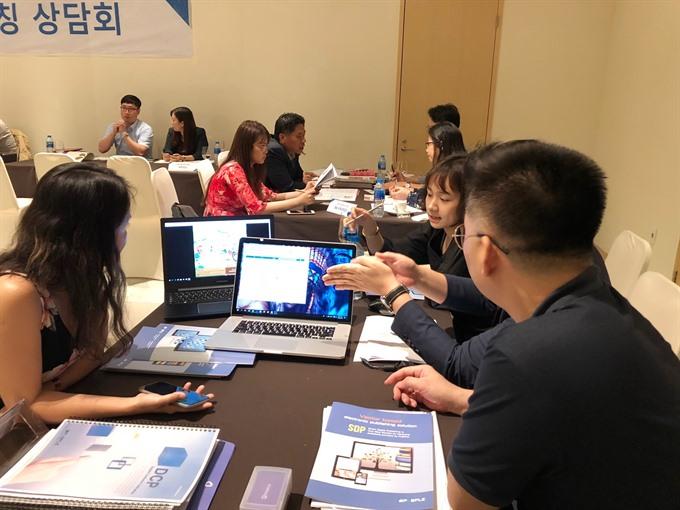 Korea VN firms discuss linking up