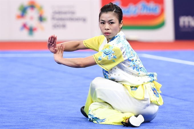 Wushu artist Giang wins bronze medal at ASIAD