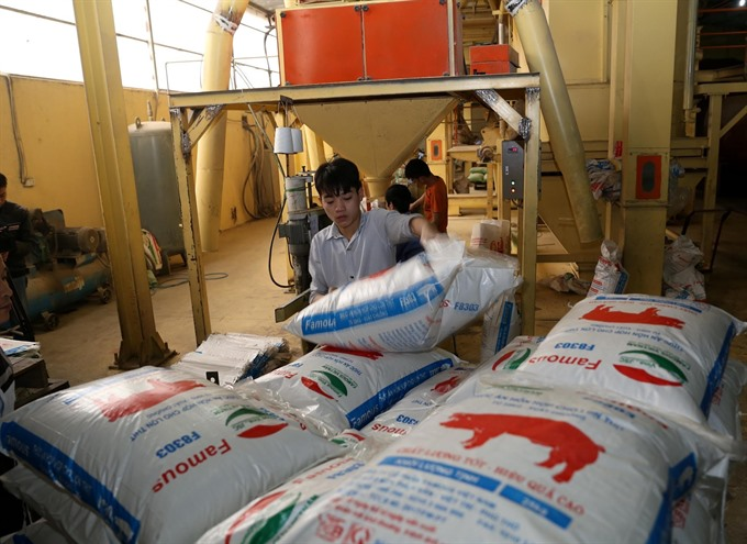 Domestic animal feed controlled by import and FDI businesses
