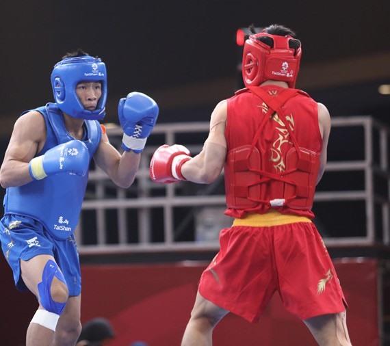 Giang wins wushu silver at ASIAD