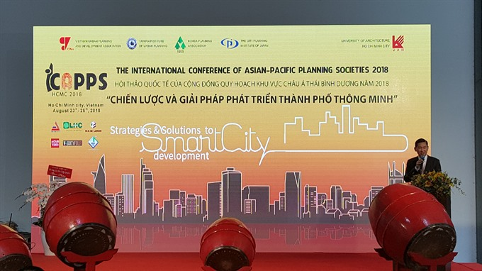 Intl planning experts meet to discuss smart-city development