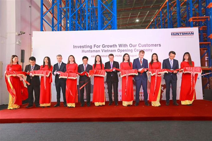 US chemical maker opens new facility