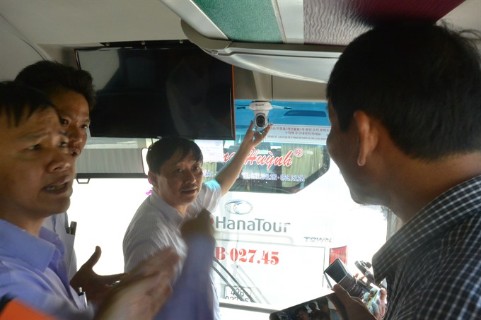 Security cameras installed on Đà Nẵng buses