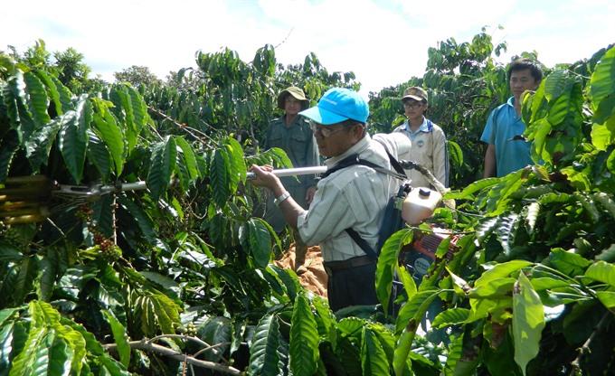 Coffee machine leaves good taste for farmers