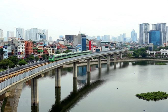 Cát Linh – Hà Đông elevated train to test run in September