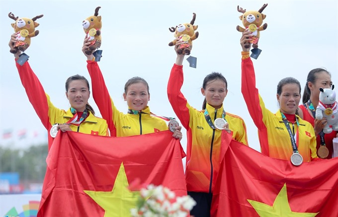 Vietnamese rowers bag one more silver