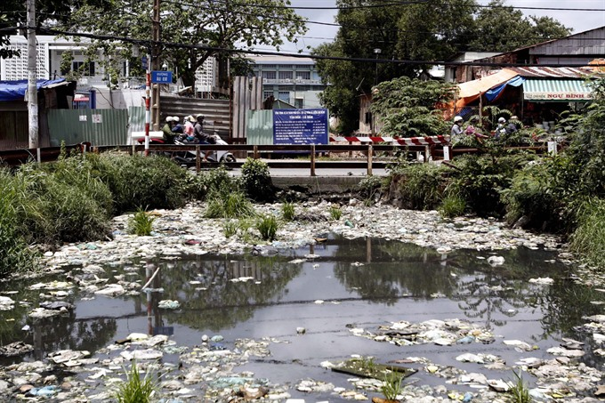 Industrial waste pollutes HCM City