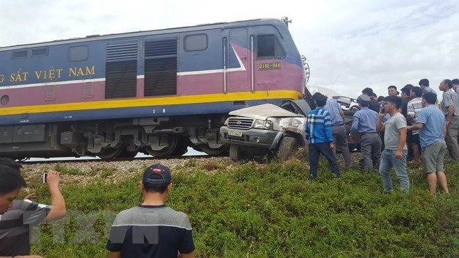 Railway accident kills two