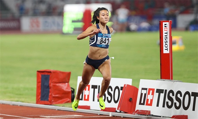 Chinh eliminated from womens 100m in ASIAD