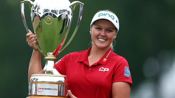Henderson delivers historic win at LPGA Canadian Open
