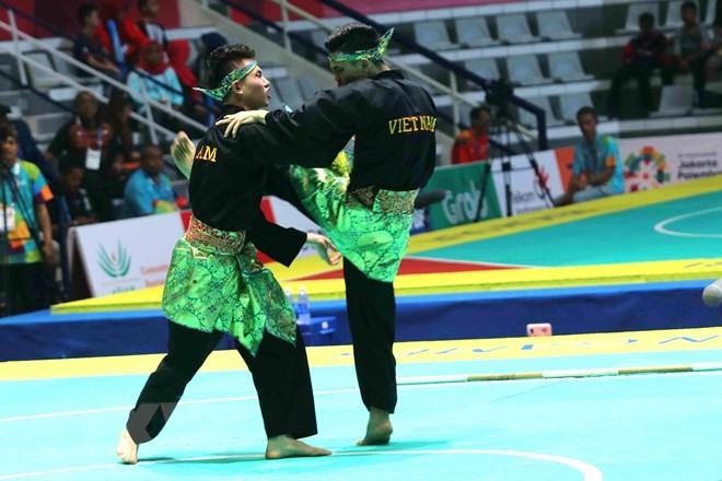 VN win two silvers in pencak silat