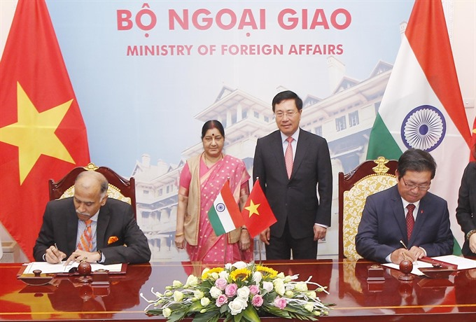VN India hold 16th Joint Committee meeting in Hà Nội