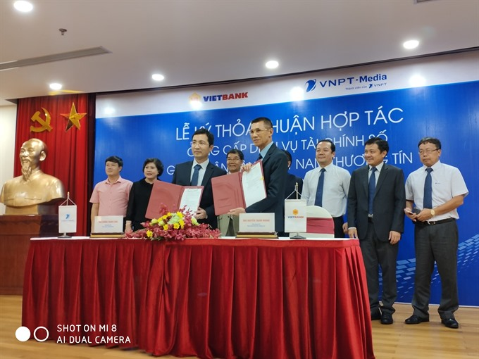 Vietbank and VNPT-Media co-operate in digital financial services