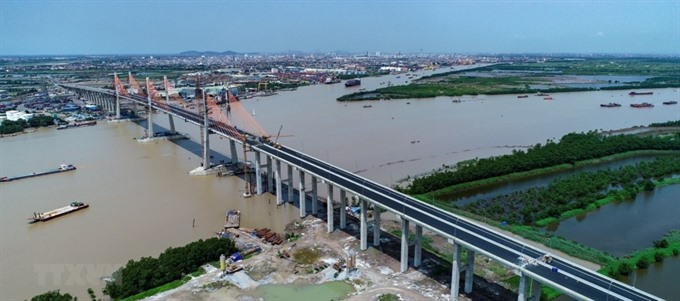 Hạ Long – Hải Phòng Expressway and Bạch Đằng Bridge opens to traffic next month
