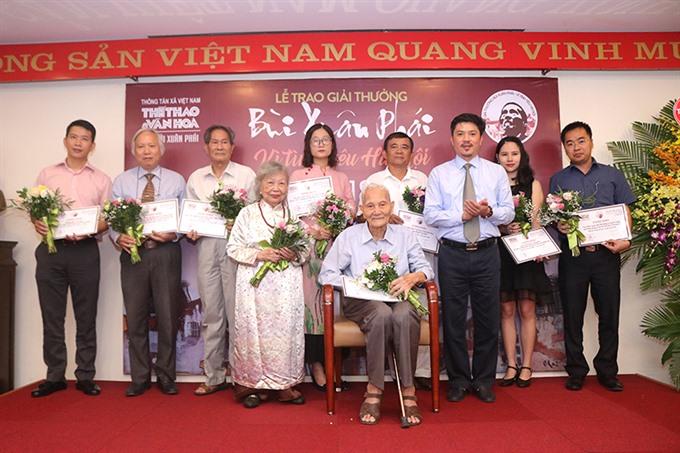 Bùi Xuân Phái awards honour love for Hà Nội