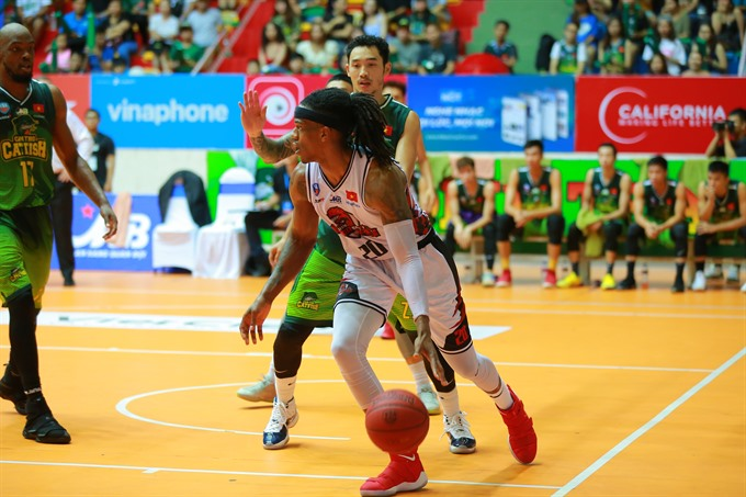 Thang Long Warriors continue to be unbeatable at VBA 2018