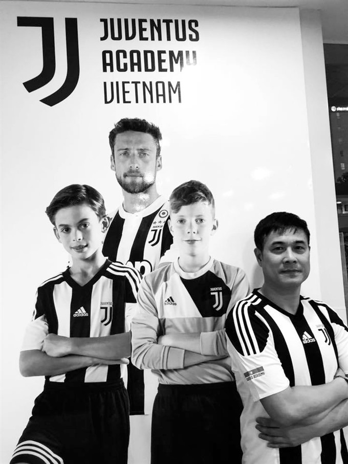 Juventus opens training academy in Việt Nam