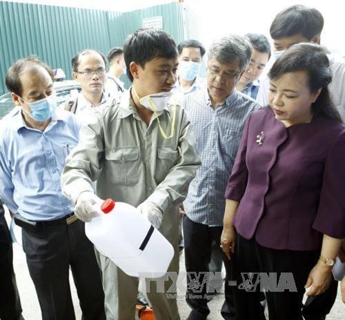 Health ministry checks anti-dengue efforts around country