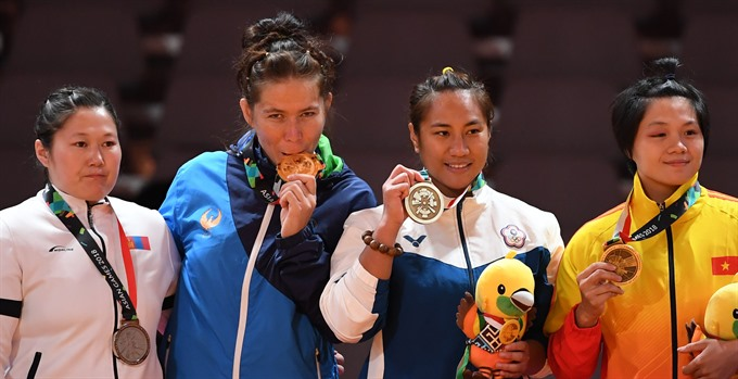 Việt Nam win three more bronzes in ASIAD