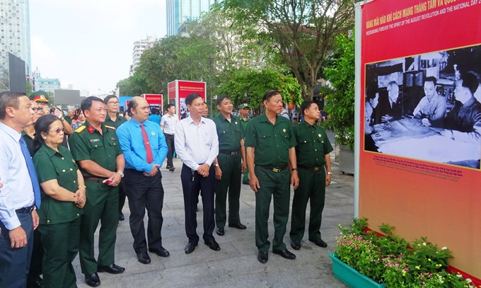 HCM City hosts exhibitions celebrating 73rd National Day