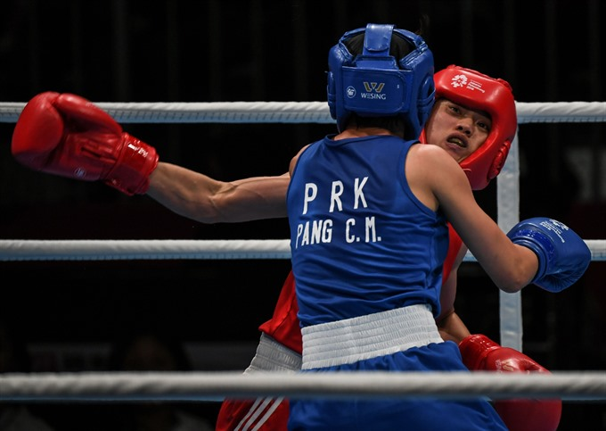 Tâm battles to claim ASIAD boxing bronze