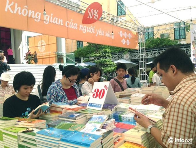 Autumn book fair to open
