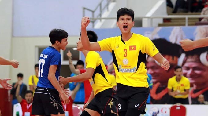 Khánh Hòa rank fourth in AFC volleyball champs