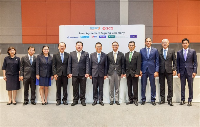 SCG signs 3.2b loans in Thailand