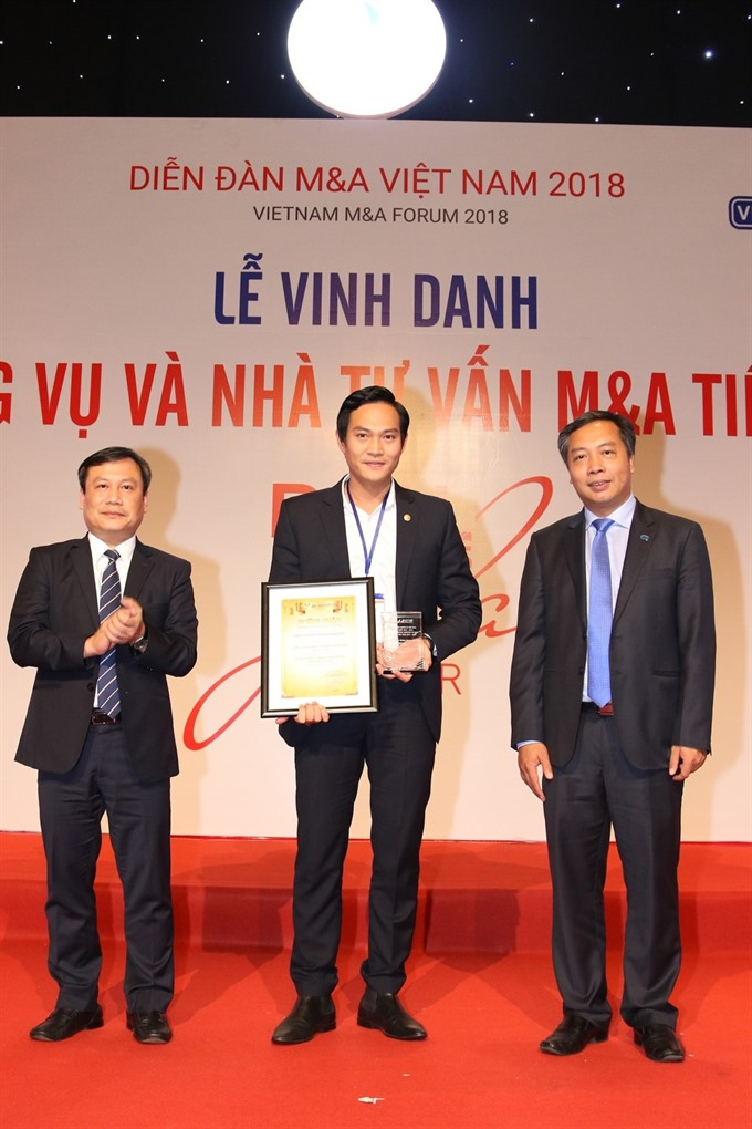 Bảo Việt Securities honoured at Vietnam MA 2018 Forum