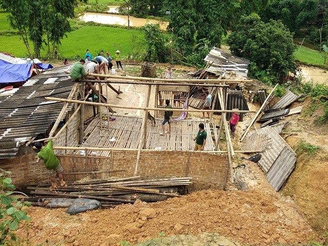 Điện Biên struggles to relocate residents from danger zones