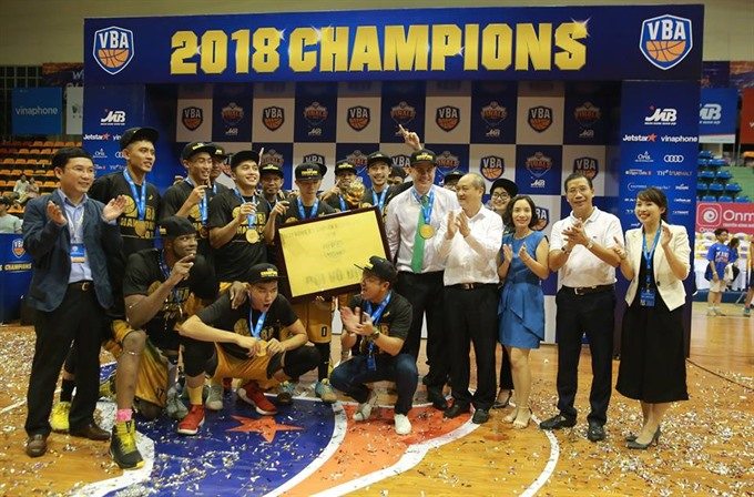 Cantho Catfish win VBA 2018 for first time