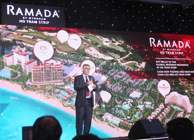 Hồ Tràm signs up Wyndham for new hotel