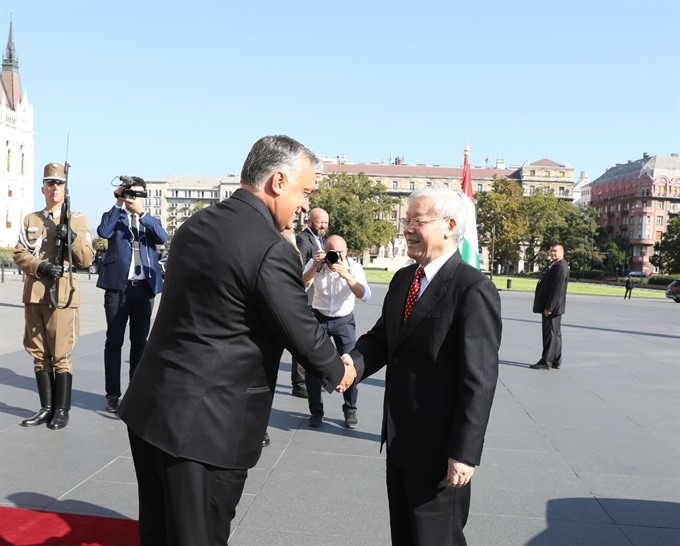 Việt Nam Hungary agree to lift relations to comprehensive partnership