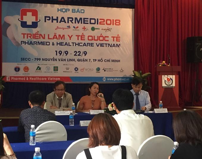 HCM City to host intl pharma expo