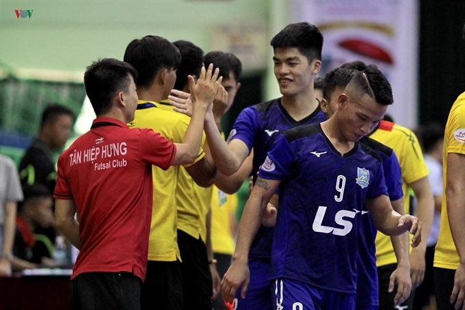 Thái Sơn Nam beats Tân Hiệp Hưng at National Futsal HDBank Championship