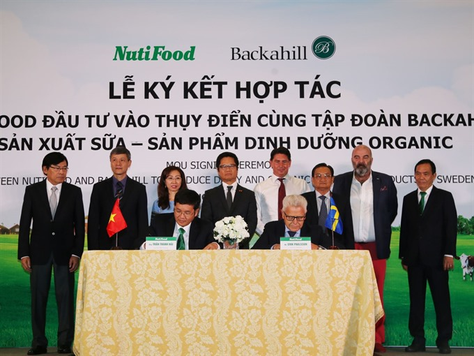 NutiFood agrees to partnership with Swedish firm