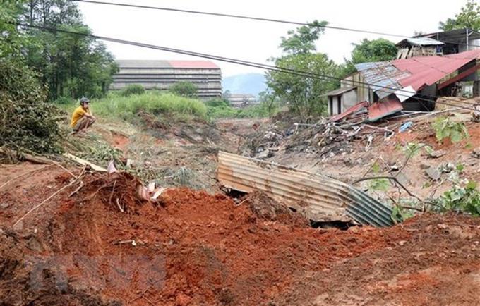Wet soil blamed for gypsum sludge reservoir breach in Lào Cai