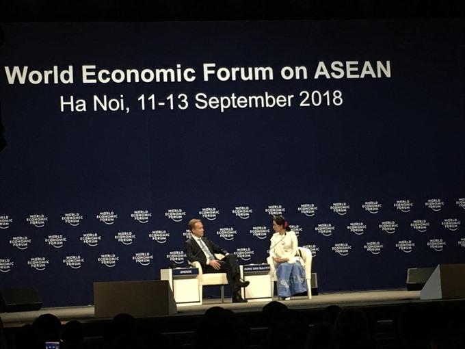 Suu Kyi pleased with Myanmars progress