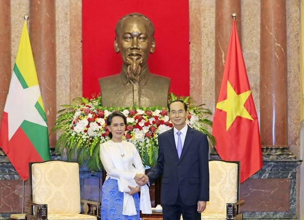 President affirms support for Myanmars peace process
