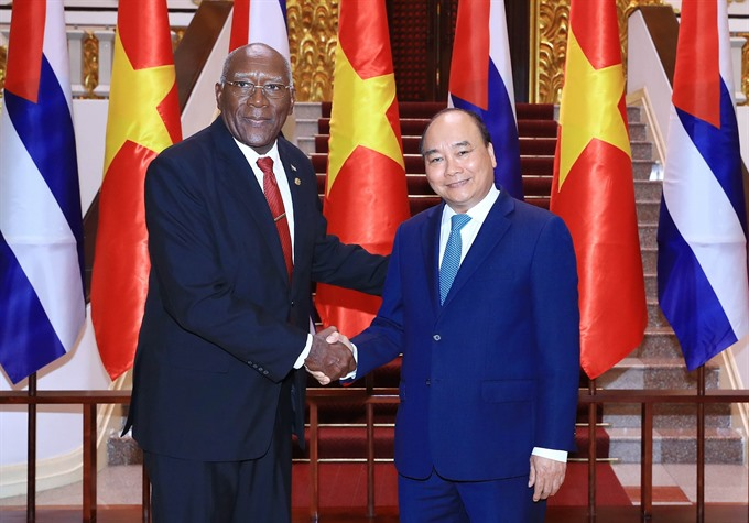 Việt Nam always treasures ties with Cuba: PM