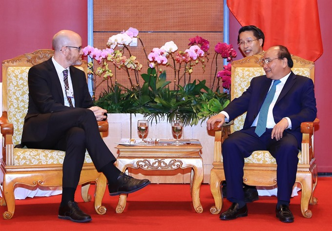 WEF ASEAN 2018: Govt leader asks Facebook to further co-operate with Việt Nam