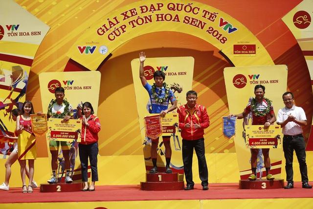 Im Jaeyeon wins stage 12 of Tôn Hoa Sen Cup
