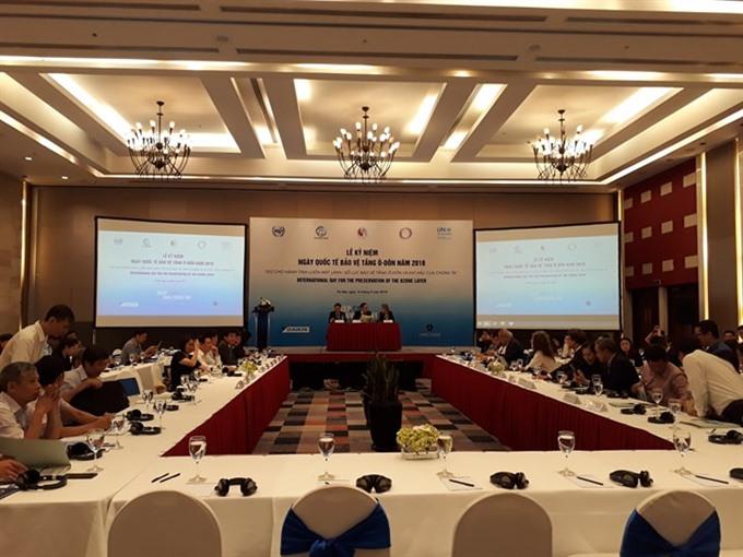 Việt Nam fulfills Montreal Protocol