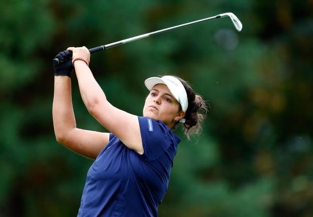 Puerto Rico's Torres shares early Evian lead with Ciganda