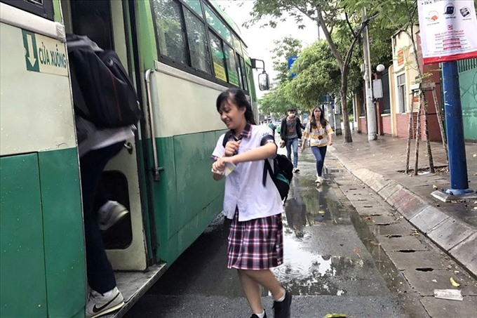 Free bus passes for students sought in HCMC