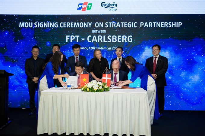 FPT becomes Carlsbergs technology partner