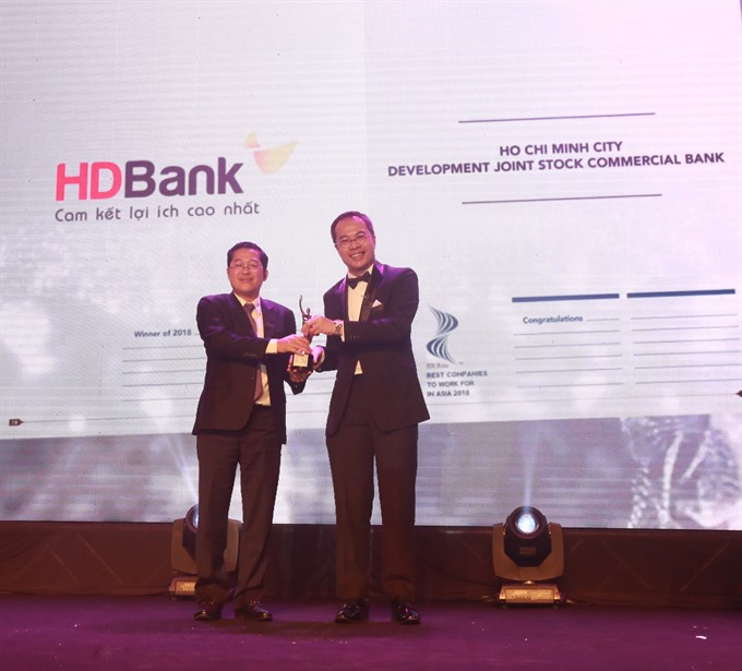HDBank among best firms to work for