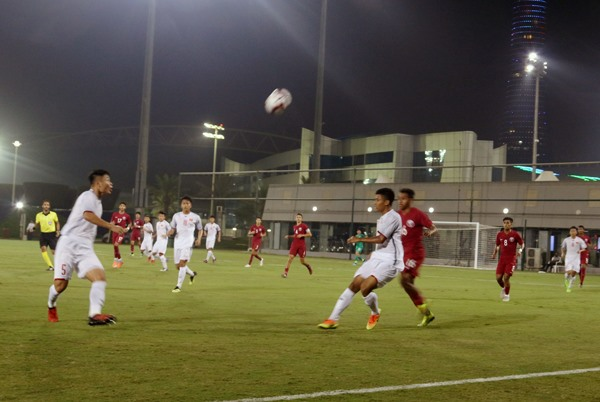 Việt Nam lose to Qatar in friendly U19 event